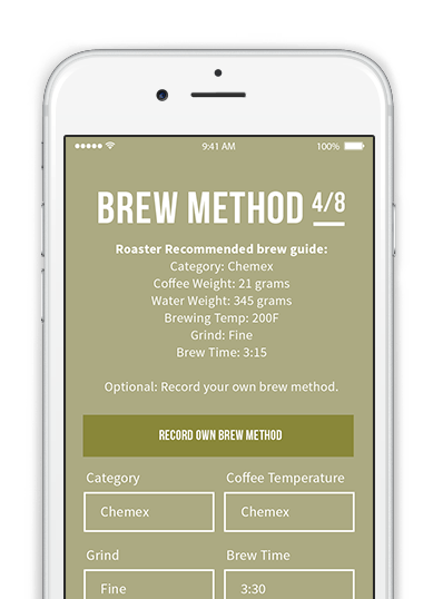 Brew method app angels cup